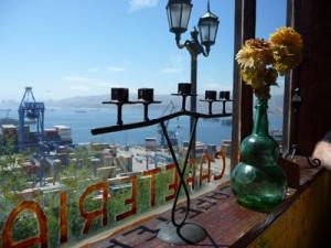 Cafeteria in Valparaiso