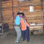 Gaucho Familie beim Tanzen
